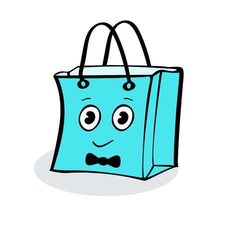 wrap: Boy gift wrap package sale. Illustrator vector
