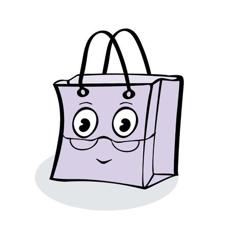 wrap: Grandma gift wrap package sale. Illustrator vector Illustration