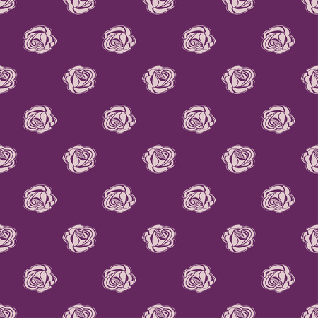 bud: Seamless pattern Bud roses. Vector illustration floral background.