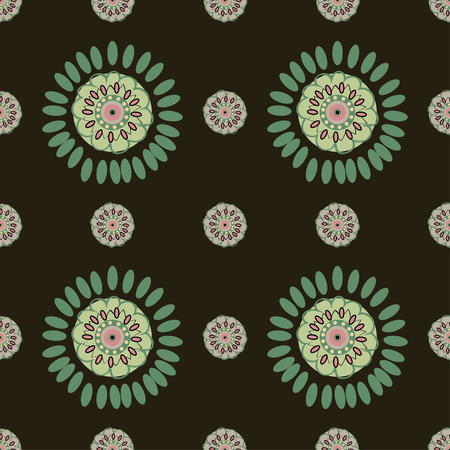 magnificence: Ethnic Colorful pattern backgrounds.