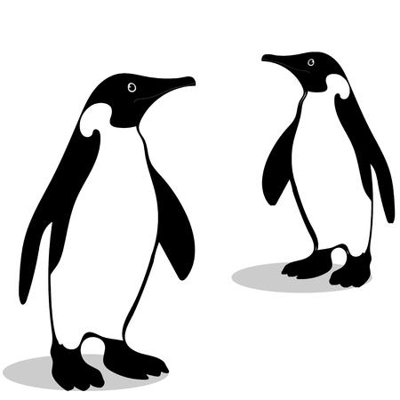 Penguin friendship symbol loyalty Stok Fotoğraf - 75791118