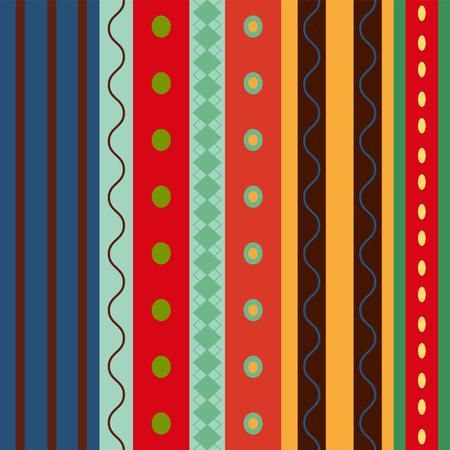 stripy: Bright Colorful seamless stripes pattern.