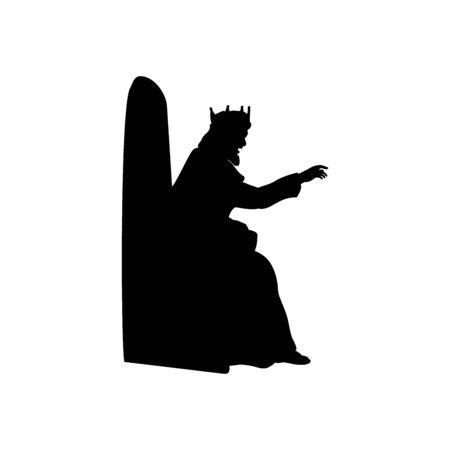 Il re dà il decreto. Natività di re Erode
