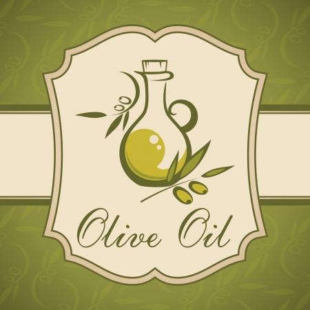 ewer: Olive oil  Vintage label
