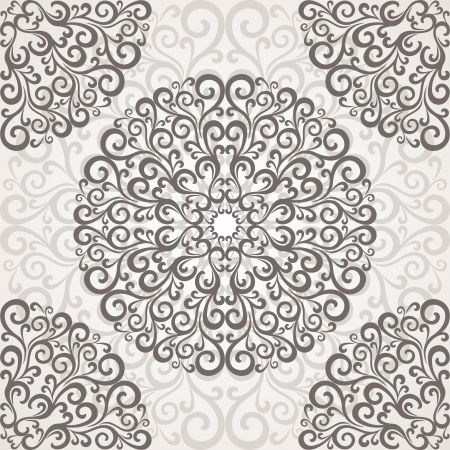 east indian: Ornamental round lace.