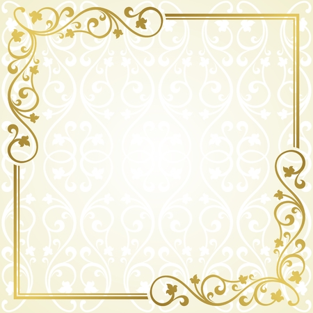 Floral carte d'invitation. Banque d'images - 24470992