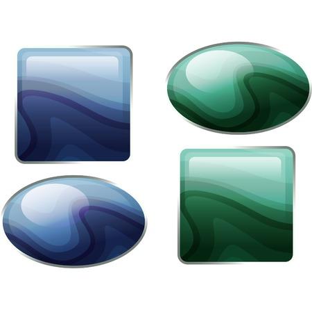 semiprecious: Semiprecious stones.