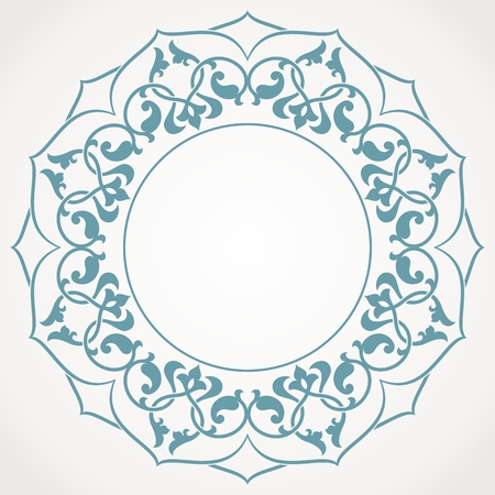 Round Ornament Pattern. Stock Vector - 24870282