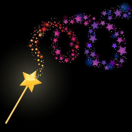 Magic wand Illustration