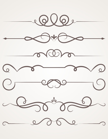 Decorative elements. Vector