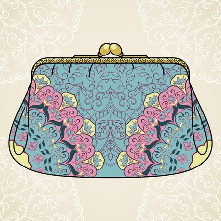 Lacy elegant purse