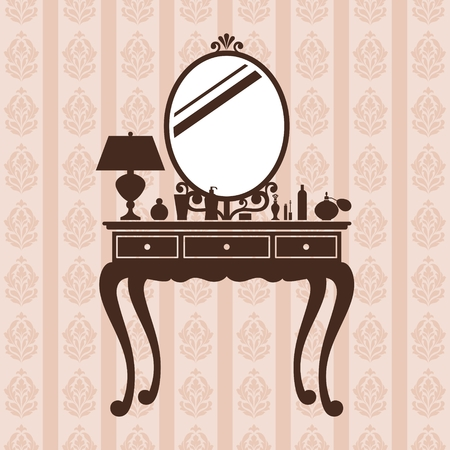 dressing table: Dressing table