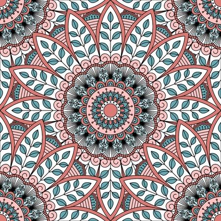 orientalische muster: Nahtloses orientalisches Muster.