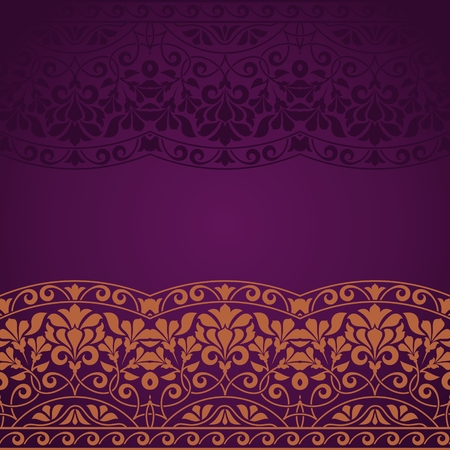 Floral Indian pattern.