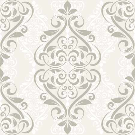 seamless damask: Damask seamless pattern for design.  EPS10 format.