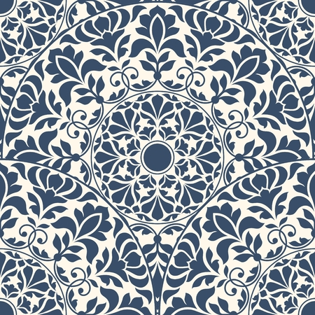 disegni cachemire: Seamless pattern orientale. Vettoriali