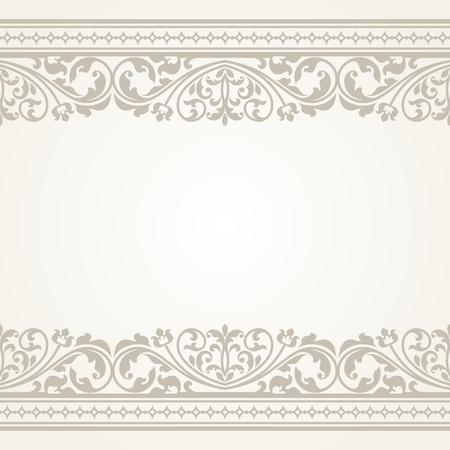 Vintage carte de voeux. Ce est le fichier d'un format EPS10.
