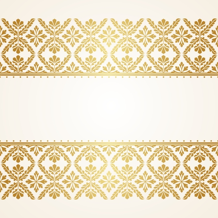 book background: Floral Indian pattern. This is file of EPS10 format.