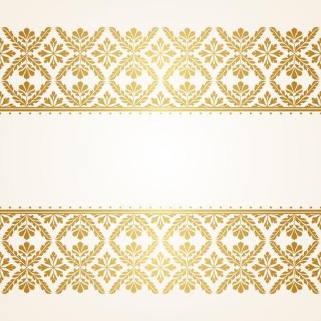 Motif floral indienne. Ce fichier est le format EPS10. Banque d'images - 45652297
