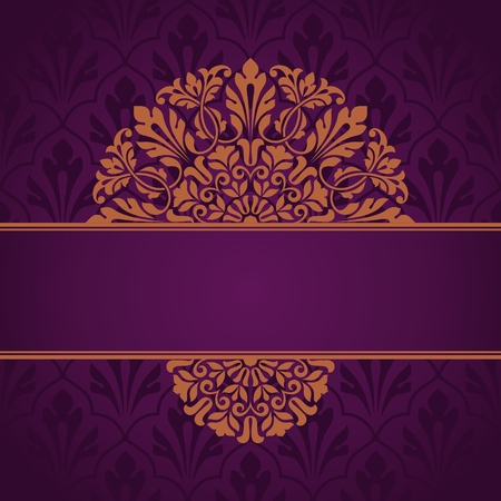 indian traditional: Floral Indian pattern. This is file of EPS10 format.