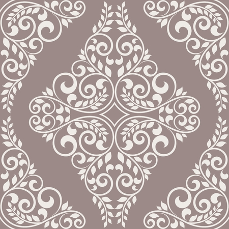 decorative design: Vintage seamless background. This is file of EPS10 format. Illustration