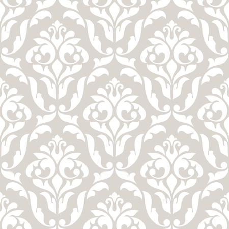 seamless damask: Damask seamless pattern for design. 10 eps.
