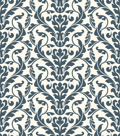paperhanging: Damask seamless pattern for design.