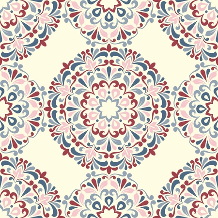 vintage floral pattern: Seamless floral pattern. This is file of EPS10 format. Illustration