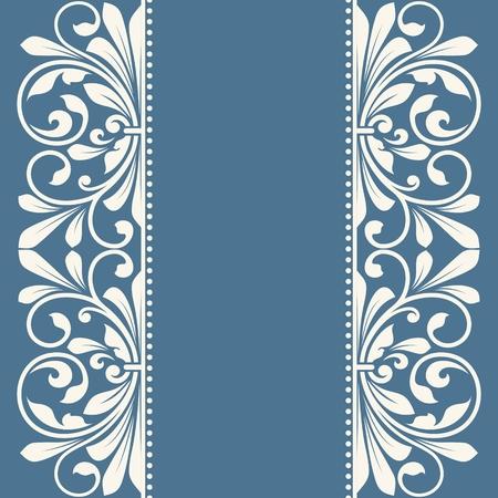 Bloemenpatroon voor uitnodiging of wenskaart. Stockfoto - 50927779