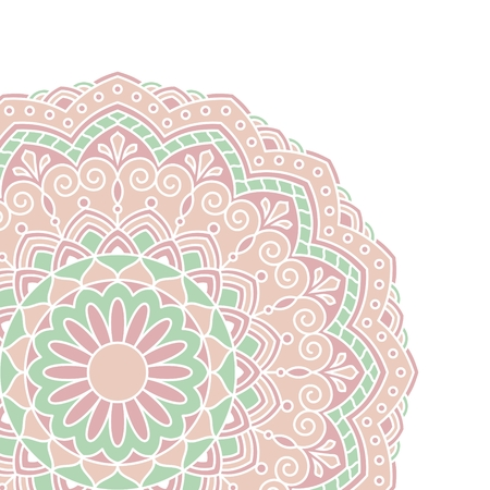 indian pattern: Floral oriental pattern. This is file of EPS10 format.