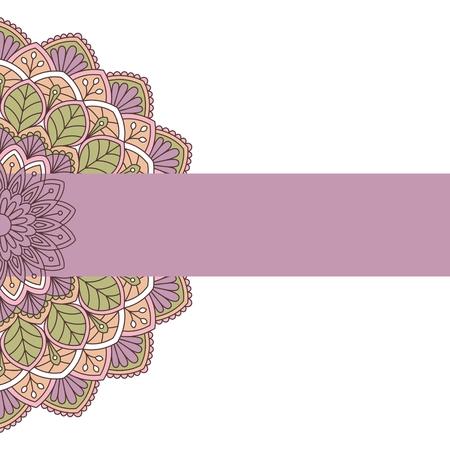indische muster: Floral orientalischen Muster. Dies ist der Datei EPS10-Format. Illustration