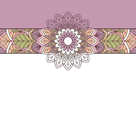 wedding flowers: Floral oriental pattern. This is file of EPS10 format.