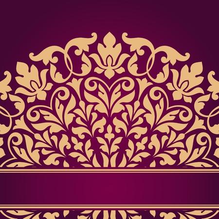 Patrón floral india.