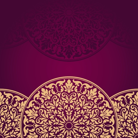 indian pattern: Floral Indian pattern. This is file of EPS10 format.