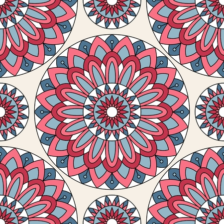 indian pattern: Seamless oriental pattern. This is file of EPS10 format. Illustration