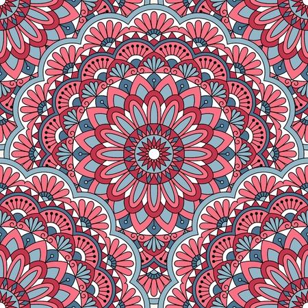 indische muster: Nahtloses orientalisches Muster. Dies ist der Datei EPS10-Format.