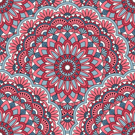 indian traditional: Seamless oriental pattern. This is file of EPS10 format. Illustration