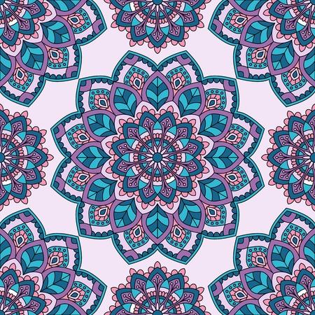 Seamless oriental pattern. Vector Illustration