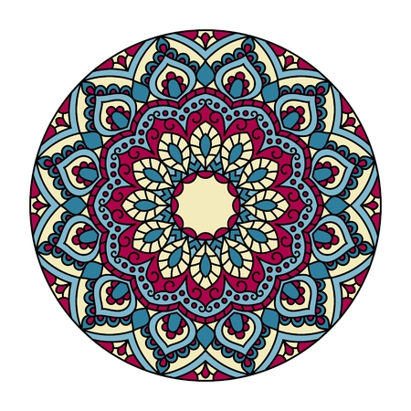 Ornamental round pattern. This is file of EPS10 format. Illustration
