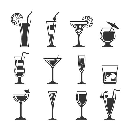 colada: Set of cocktails.