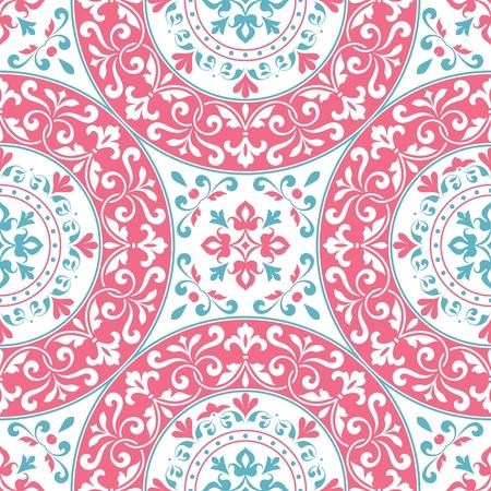 Seamless vintage pattern. Vector Illustration