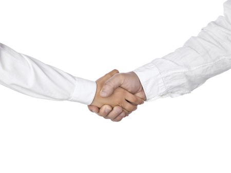 Business hand shake Stock Photo - 15267162