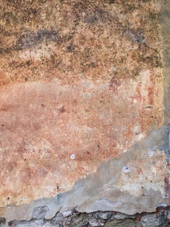 Damaged Wall Texture with a broken cement below Stock Photo - 15543272