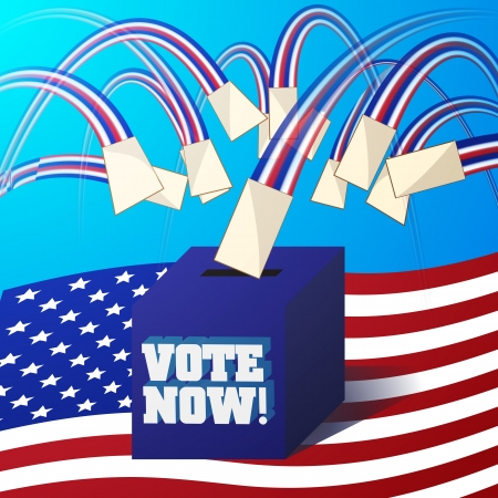 Vector voting concept for USA election