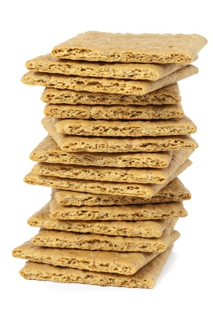 Graham Crackers in a close-up image