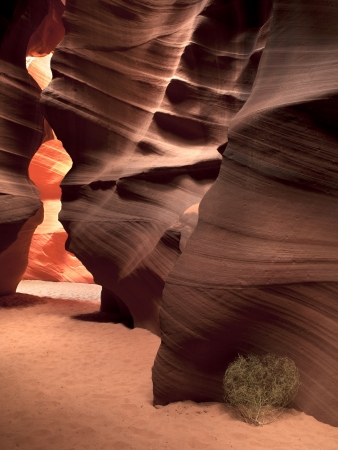 Scenic view of canyon antelope cave Stock Photo - 16958032