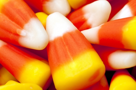 Candy corn photographed upclose. Stock Photo - 16973560