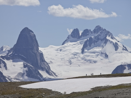 bugaboo: Image of distance view  shot of bugaboo mountain