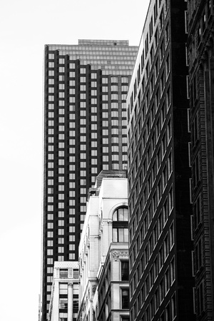 Image of building in black and white image Stock Photo - 16978746