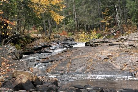 Image of water stream through rocks Stock Photo - 16978404